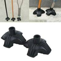 4 Prong Cane Tip/Self Standing Quad Base Replacement for Most Walking Canes