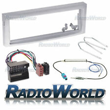 Peugeot 407 Kit de Montaje de Radio Estéreo Fascia Panel Adaptador SINGLE DIN FP-04-04/S