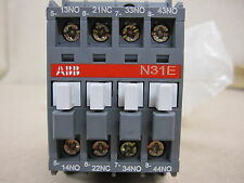 ABB N31E Contactor Relé Riel Din o base de montaje 16 Amp Nueva