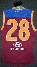 Brisbane Lions 2016 Player Issue Guernsey / Jersey / Jumper - Lewis Taylor