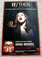 IDINA MENZEL ~ 11-by-17 Poster Broadway Frozen .... FREE SHIPPING
