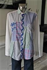 pretty shirt white patchwork for women EDEN PARK size L MINT