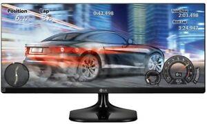 LG 25UM58 25 inch 21:9 UltraWide IPS Monitor (2560 x 1080, HDMI, 250 cd/m2, 5ms)