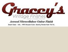 -Desert Sand- Gracey's Vintage Finishes Nitrocellulose Guitar Lacquer Aerosol.