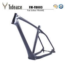 26ER T800 Carbon Fiber Fat Bike Frames OEM Bicycle Frameset UD Black Snow Bike