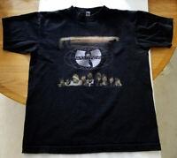 Wu-Tang Forever vtg 90s Rap Tee ODB RZA Method Hip Hop Shirt 1997 GZA reprint