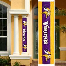 NFL- Minnesota VIKINGS Team Logo indoor/outdoor Pillar/Column Wrap Banner-NEW
