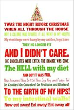 Night Before Christmas 12 Funny Boxed Christmas Cards by Nobleworks