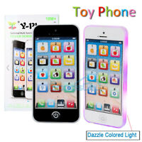 LED Kids Simulator Music Toy Cell Phone Touch Screen Educational Learning Child