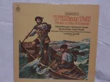 Rossini - Gardelli, WILLIAM TELL, GREAT ARIAS & SCENES (Angel), 1973, VG+/EX