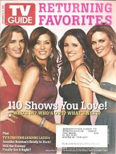 TV GUIDE~11/15/2008~BROOKE SHIELDS/KATE WALSH/JULIA LOUIS-DREYFUS/BONES~Magazine