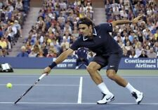 NWT Nike Roger Federer RF US Open 2010 Tennis Polo Shirt 381369-452 Small