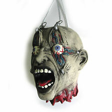 Severed Human Head Gory Chain Torture Lifesize Halloween Party Decoration Prop