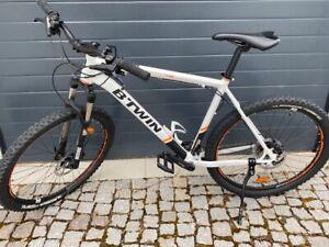 """27,5"""" BTwin Rockrider 580 Hardtail Mountainbike neuwertig und unbenutzt Größe XL"""