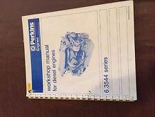 PERKINS DIESEL ENGINE SERVICE WORKSHOP MANUAL MARINE CAT 6.3544 SERIES