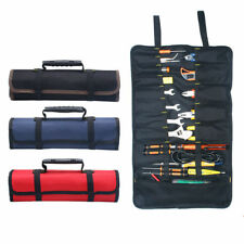 Tool Organizers Realistic Canvas Electrician Screws Drill Bit Parts Hardware Organizer Hand Nails Pouch Storage Tool Bag