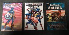3 x Marvel Graphic Novels (TPB) - Captain America