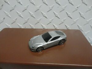 Loose Hot Wheels Silver Ferrari F12 Berlinetta