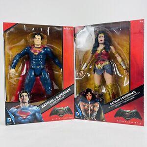 "DC COMICS Multiverse ⚡ Superman & Wonder Woman 12"" Sealed Box Justice League"