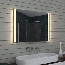 Badezimmerspiegel Badspiegel LED Multifunktions Touchschalter dimmbar MLO100L70H