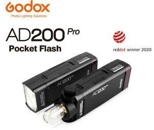 Godox AD200PRO TTL Pocket Flash Kit