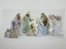 "Roman  ""Seraphim Classics""   7 Piece Nativity Set    2007"