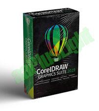 CorelDRAW Graphics Suite 2019 - Full Version - Windows - New Sealed Pack