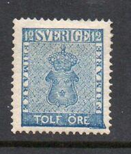 Sweden 1858. 12 öre. SC#8 MLH.Very Fine.
