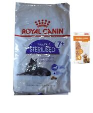 10kg Royal Canin Sterilised +7 Katzenfutter + 50g Fleischsnacks