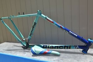 Bianchi 5800 Tycoon Titanium Reparto Corse Racing MTB Made in Italy incl Saddle