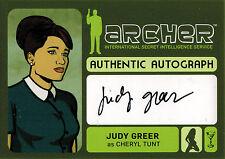 Archer Seasons 1 to 4 Autograph Card A10 Judy Greer as Cheryl Tunt
