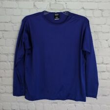 Patagonia | Youth Kids Unisex Capilene Blue Top Size L - Long Sleeve