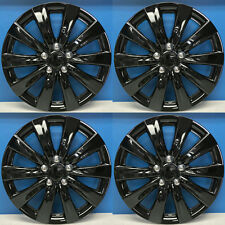 """'11-13 Toyota Corolla Style # 1038-16BLK 16"""" BLACK Hubcaps Wheel Covers NEW SET"""