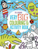 (Good)-Very Big Colouring and Activity Book (Colouring Books) (Paperback)-Kirste