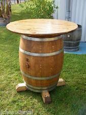 Weinfass Fassmöbel Stehtisch mit 80cm Tischplatte