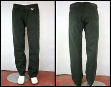 BNWT OLYO Fashion ind. 100% Cotton Cargo Trousers Pant Dark Green W36 Nice CUT