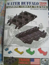 AFV CLUB 1/35 LVT-4 Water Buffalo Track link workable
