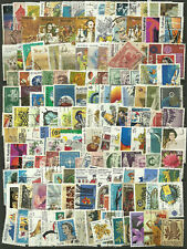 Collection Packet of 600 Different AUSTRALIAN Stamps Postmarked Used Condition
