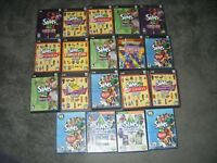 19 GAME LOT Sims 2 Pets - Glamour Life Stuff - NightLife - University 3 pc mac