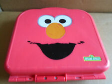 Elmo On The Go Abc Alphabet Letters Red Carrying Case Sesame Street sa