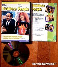 Ruthless People (DVD, 2002) starring Danny Devito & Bette Midler