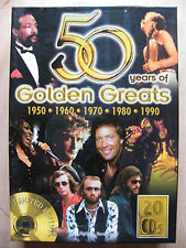"COFFRET 20 CD "" 50 YEARS OF GOLDEN GREATS """