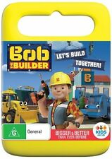 BOB THE BUILDER - LET'S BUILD TOGETHER - NEW & SEALED R4 DVD - FREE LOCAL POST