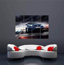 Bmw M5 super voiture nouveau giant wall art print picture poster OZ1042