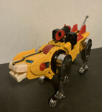 Vintage Voltron Yellow Lion Die Cast Metal 1981 Japan Transformers Gobot