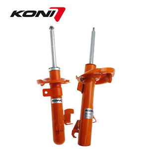 2 Front KONI STR.T Shock Absorbers for Mazda 3 5 2005-2016 Premium Quality