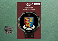 Royale Classic Car Badge & Bar Clip CITY of CHESTER  Mod B1.1057