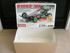 Vintage 1988 Original Kyosho Raider ARR Kit #3186 EMPTY BOX Mint Condition RARE!