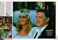 Coupure de presse  Clipping 1989 (2 pages) Hugh Hefner