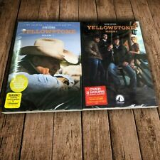 Yellowstone(1& 2) TV Series Complete First & Second Season 1-2 DVD 8-Disc Set US